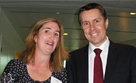 Sonia Sheppard and Mark Butler (Minister for Mental Health and Ageing)